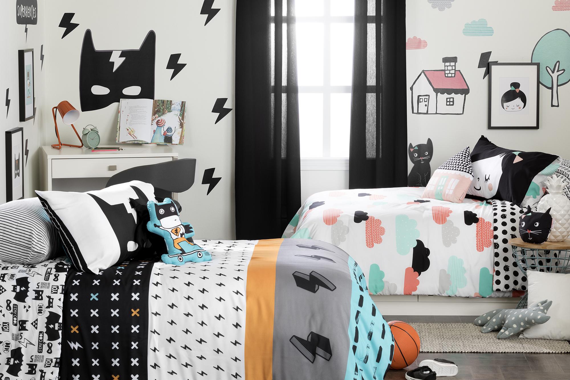 Separer Une Chambre D Un Salon la chambre pour deux enfants: 4 conseils pour réussir