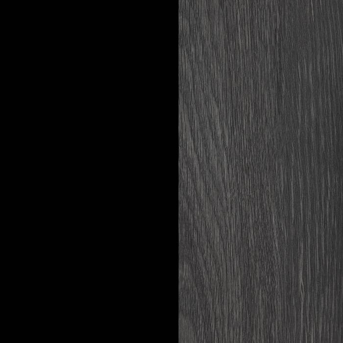 Gray Oak and Black