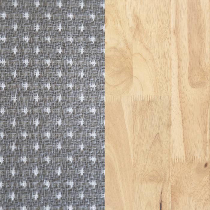 Natural Wood and Gray