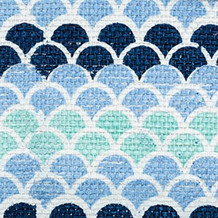 Écailles bleues