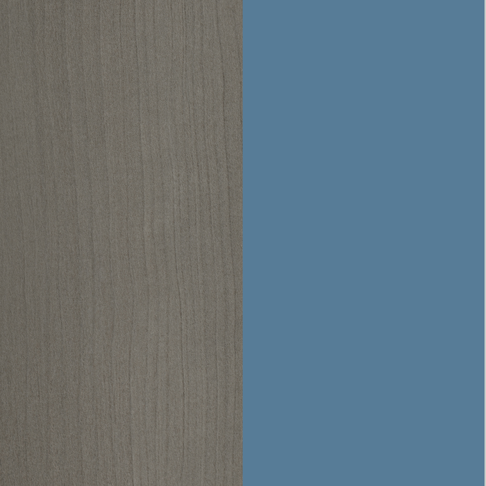 Gray Maple and Blue