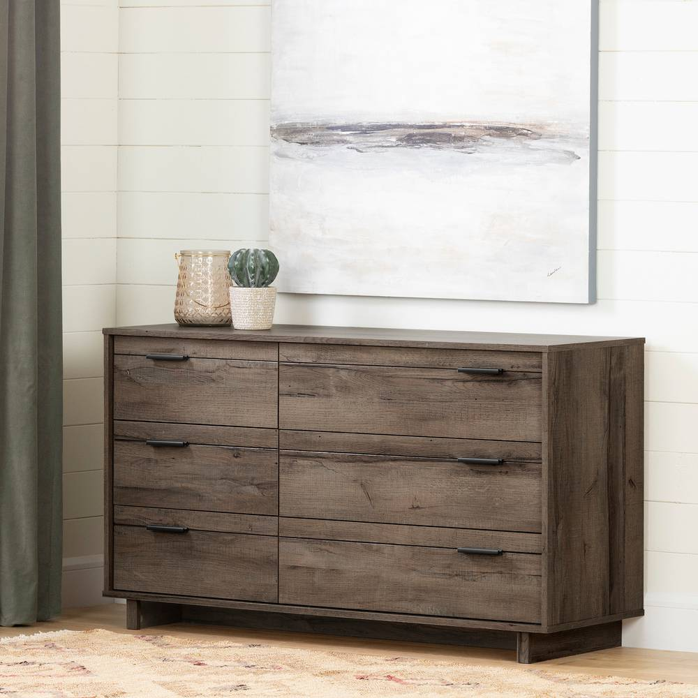 South Shore Fynn 6 Drawer Double Dresser South Shore Furniture Canada