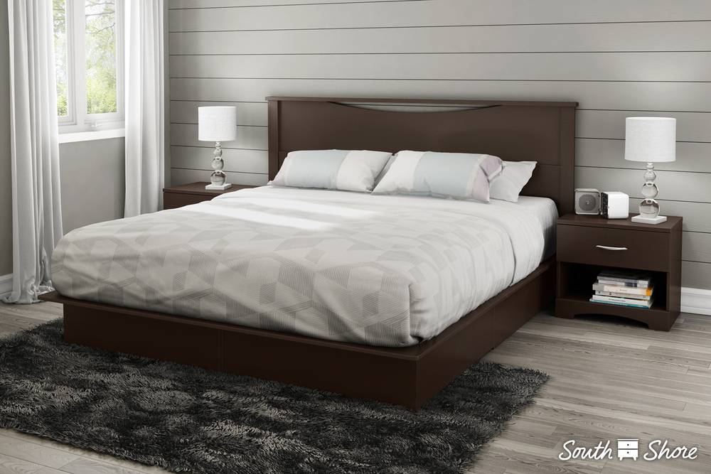 Charming South Shore Step One Platform Bed With Drawers | South Shore Furniture  United States