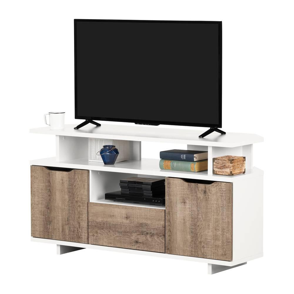 Panneau Mural Derriere Tv reflekt meuble tv en coin pour tv jusqu'à 55'' south shore