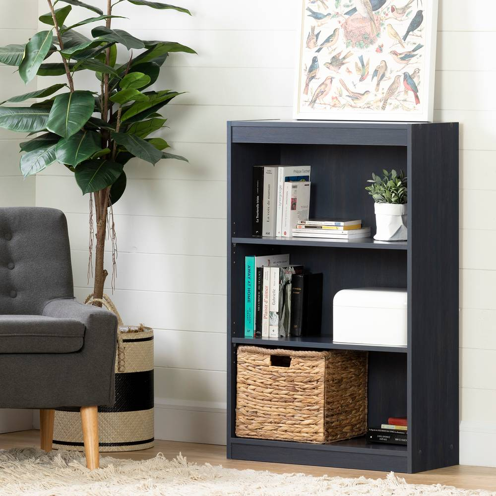 Phenomenal South Shore Axess 3 Shelf Bookcase South Shore Furniture Creativecarmelina Interior Chair Design Creativecarmelinacom