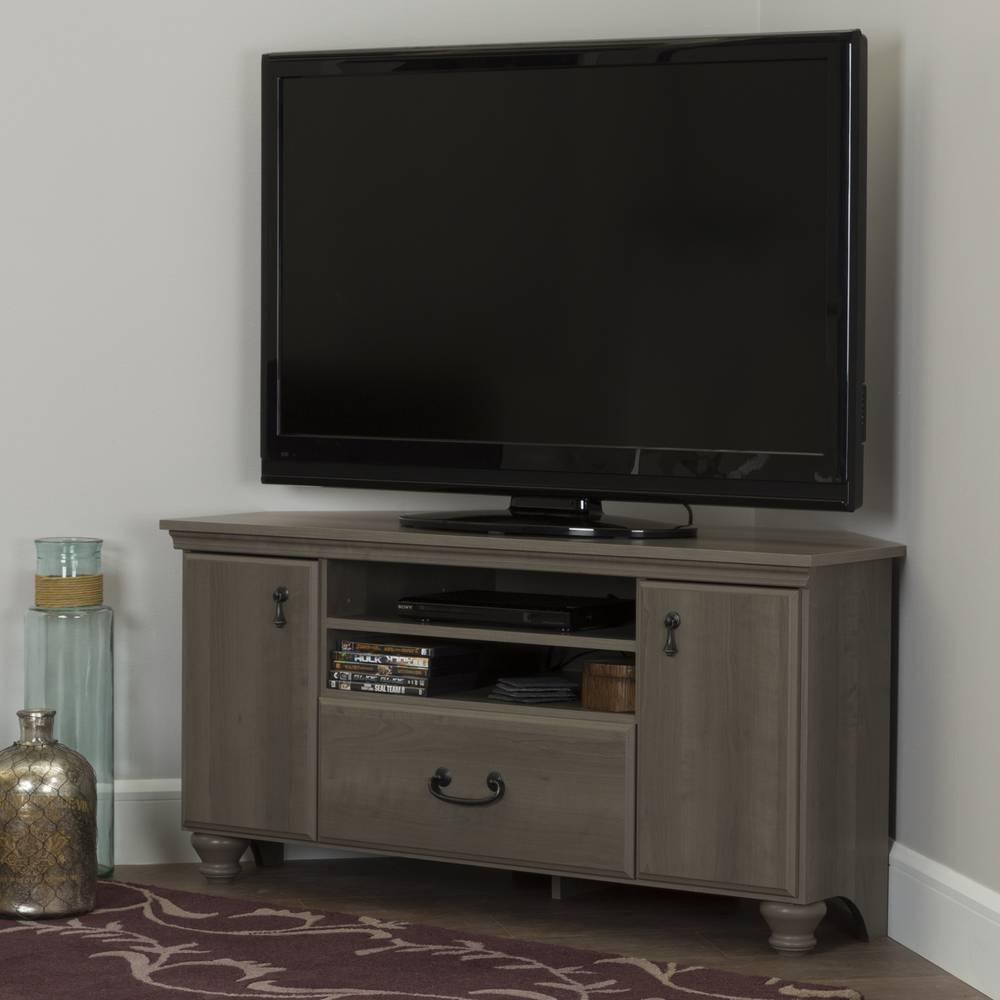 Meuble Tv Pour Coin noble meuble tv en coin pour tv jusqu'à 55'' south shore