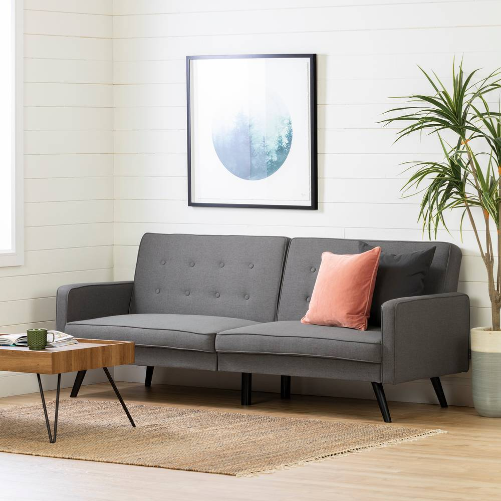 design de qualité e3ada a93cb Live-it Essential Canapé-lit futon 2 places South Shore ...