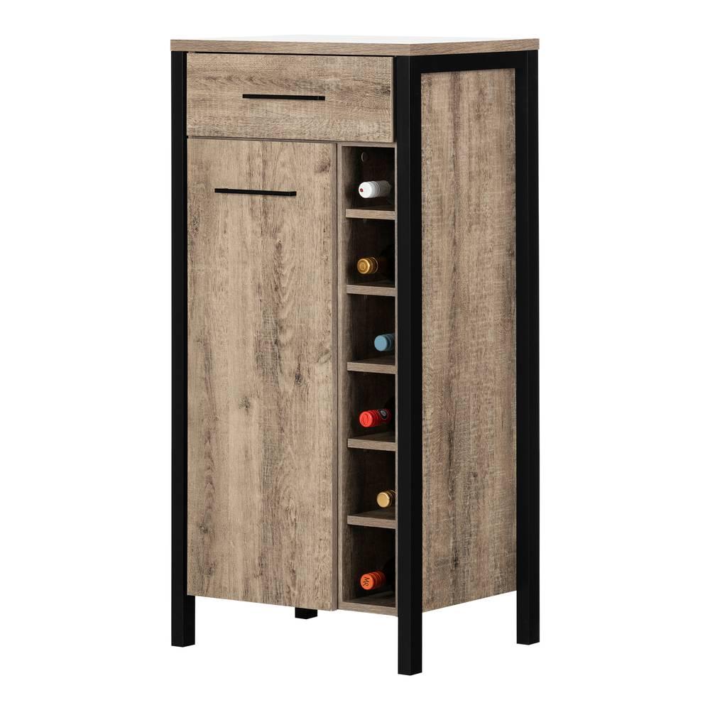 Table Haute Avec Rangement munich petit meuble bar avec rangement pour bouteilles de