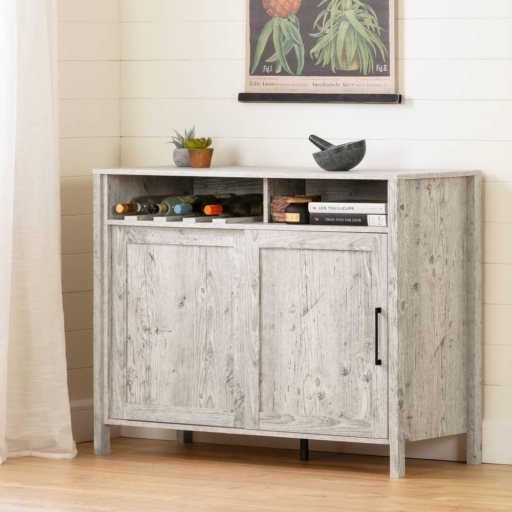 Tete De Lit Porte De Grange munich buffet avec porte coulissante south shore | meubles