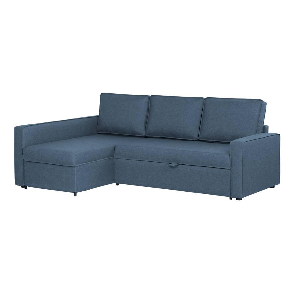 Commode A Langer Angle live-it cozy canapé-lit d'angle avec rangement south shore