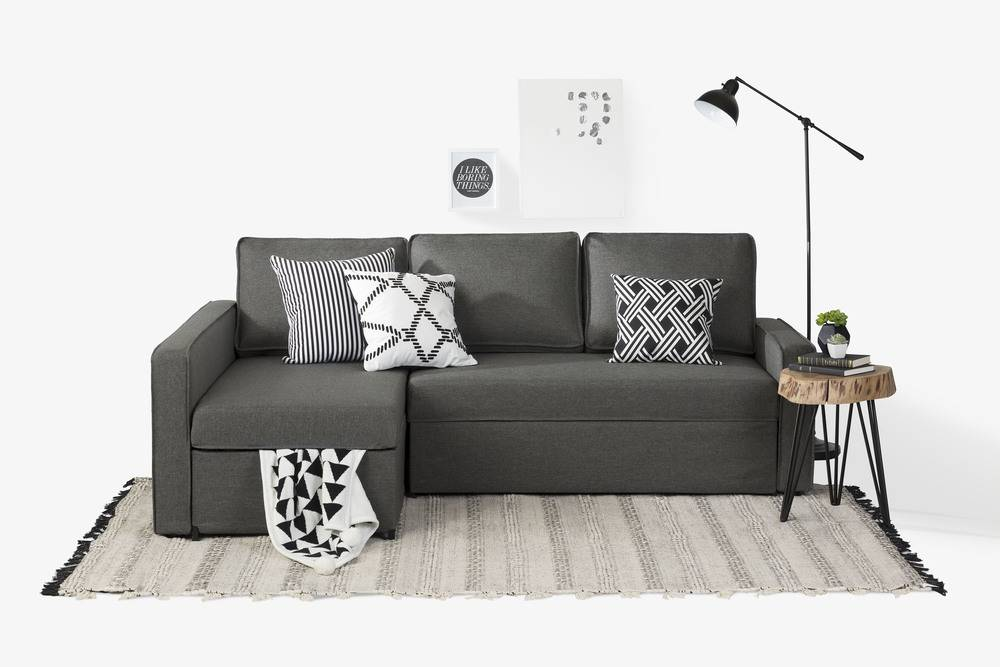 Astonishing South Shore Live It Cozy Sectional Sofa Bed With Storage Gmtry Best Dining Table And Chair Ideas Images Gmtryco